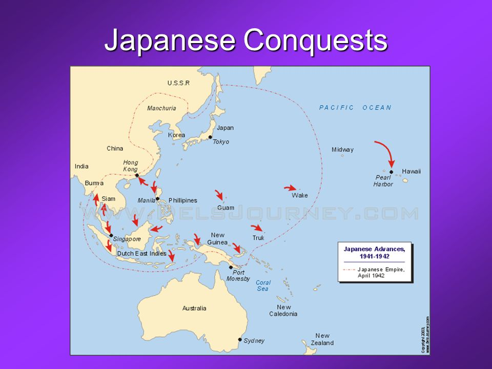 Japanese Conquests