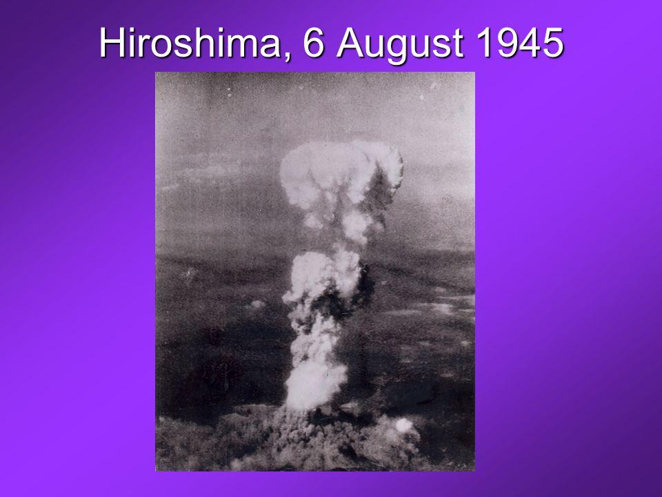 Hiroshima, 6 August 1945