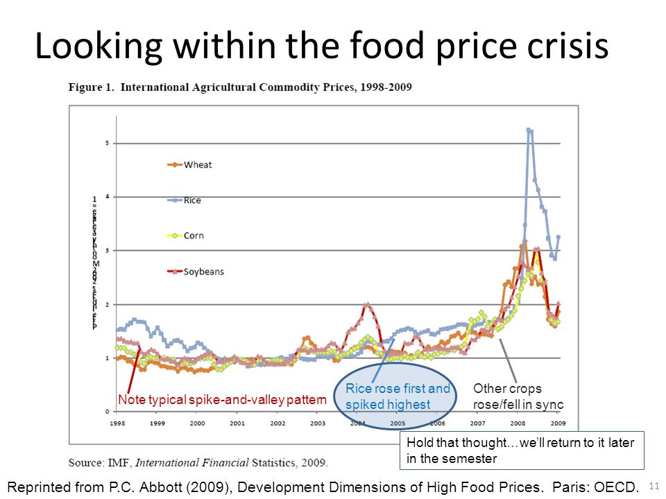 Looking within the food price crisis Reprinted from P.C.