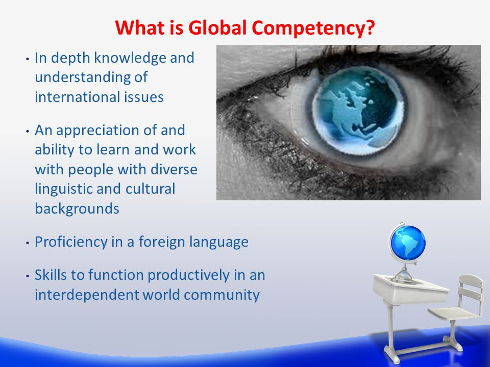 What is Global Competency.