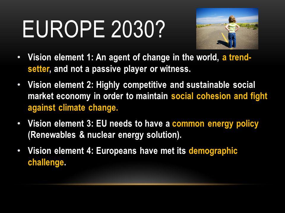 EUROPE 2030.