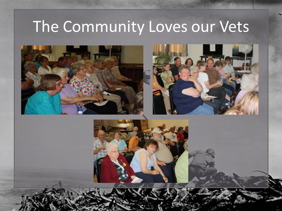 The Community Loves our Vets