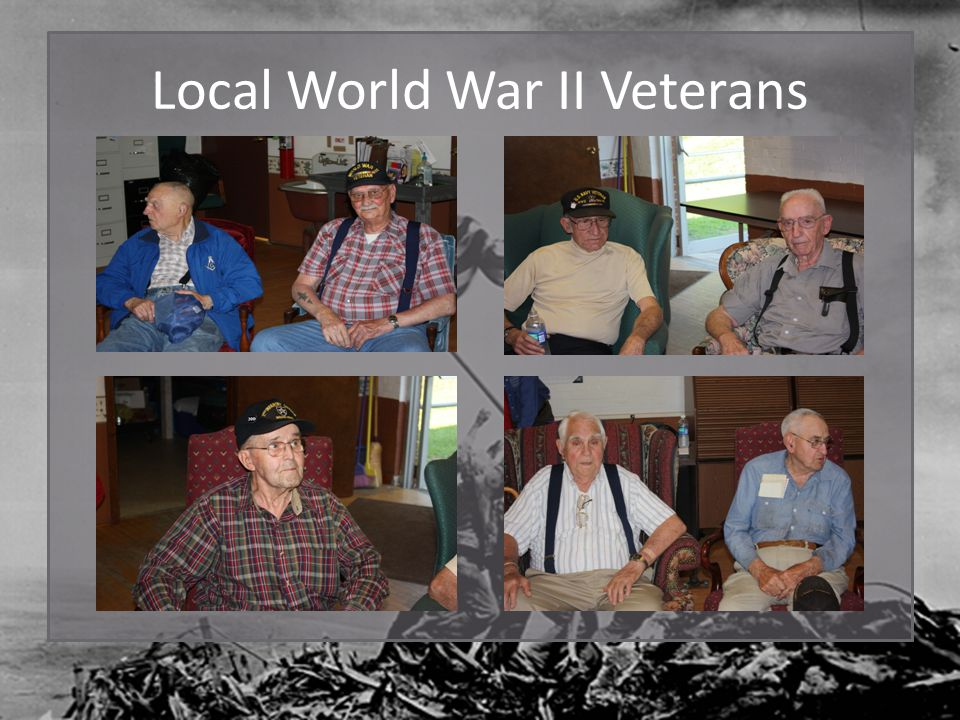 Local World War II Veterans