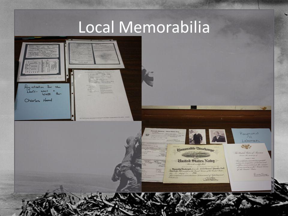 Local Memorabilia