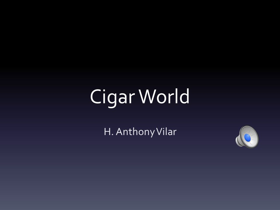 Industrial Analysis Trends:  Today, fat cigars are becoming more and more popular.