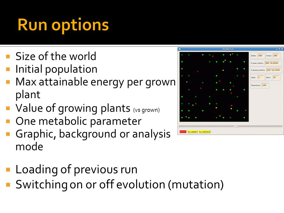  While we may see evolution in the changing mean, the variance may also be changing: