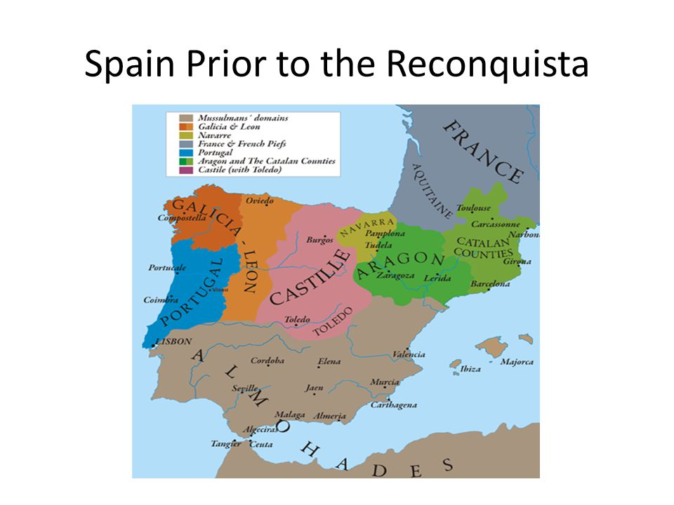 Spain Prior to the Reconquista