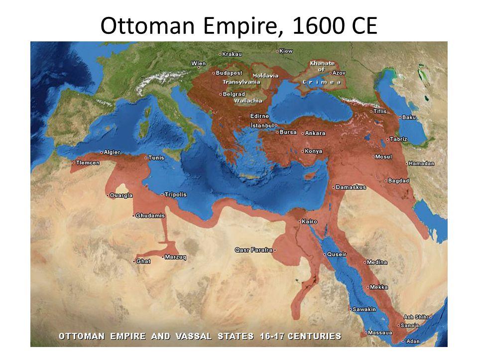 Ottoman Empire, 1600 CE