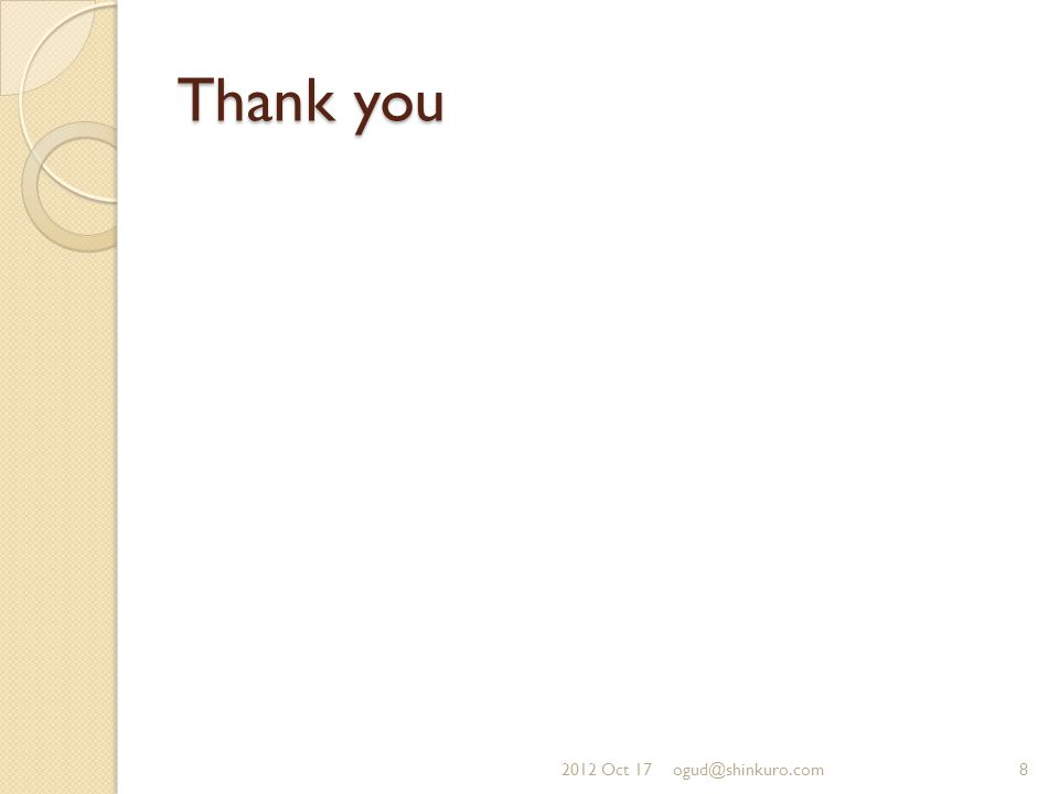 Thank you 2012 Oct 178ogud@shinkuro.com