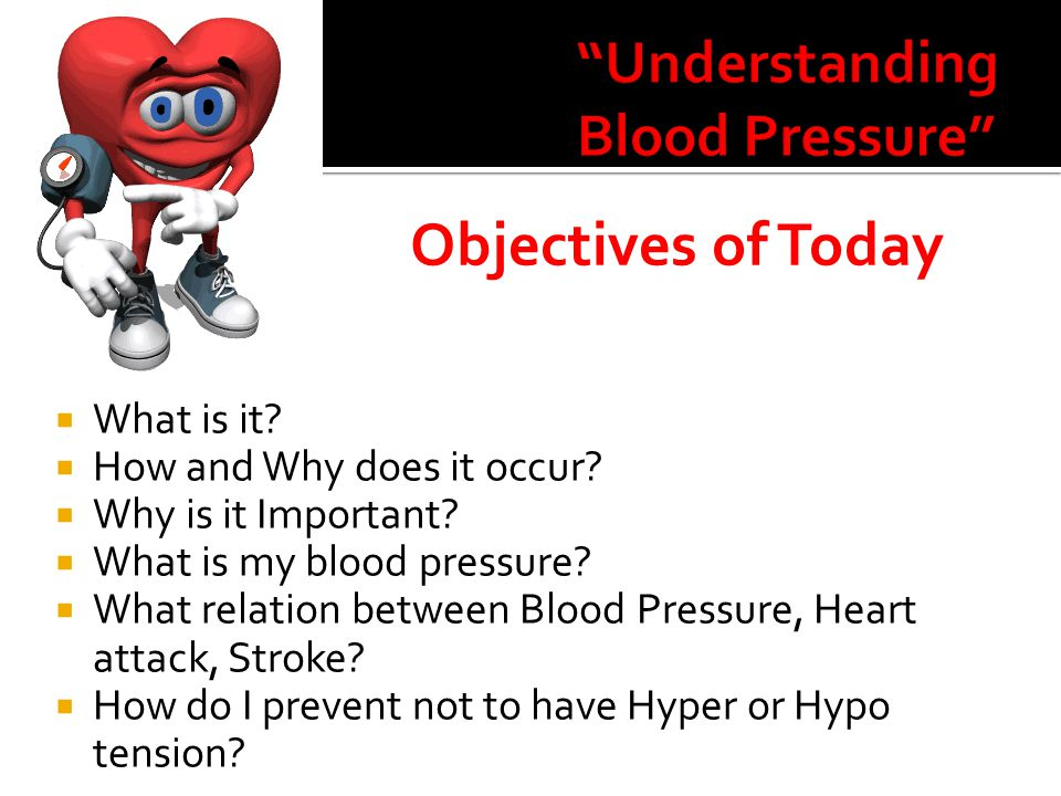 HYPERTENSION  Age  Race : Black, Americans  Family History  Obese  No physically active  Smoking and Tobacco  Drinking  Much salt in Diet  Stress  M>F HYPOTENSION  Hypertension on medicine  Shock  Blood loss  Anemia  Sever infections  Head injury