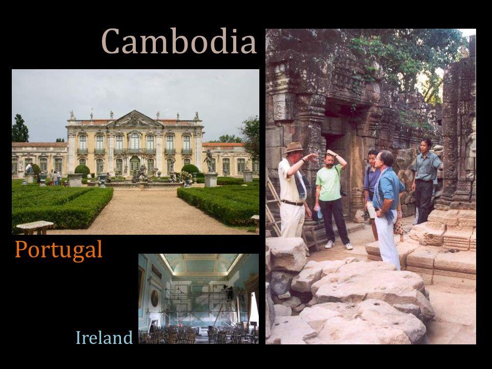 Cambodia Portugal Ireland