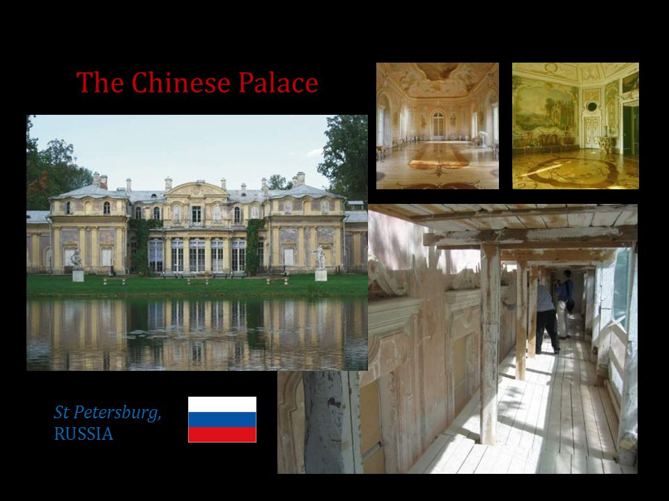 The Chinese Palace St Petersburg, RUSSIA
