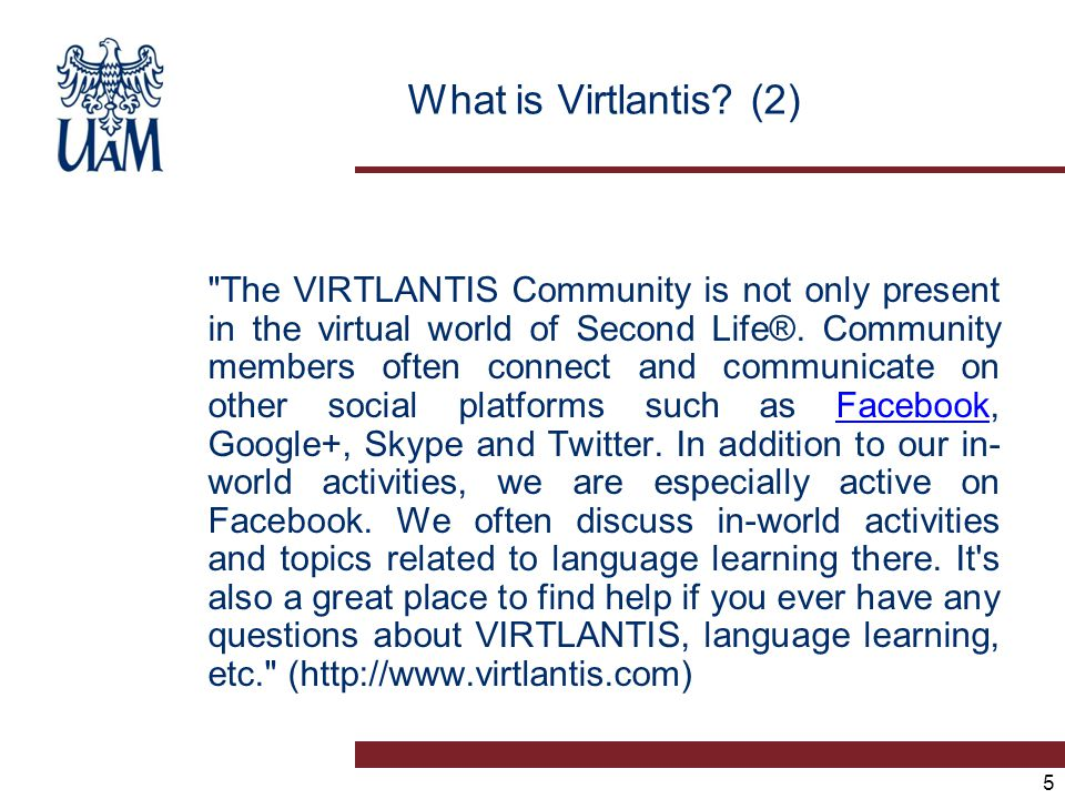 5 What is Virtlantis? (2)