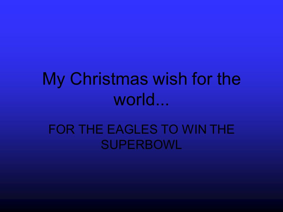 My Christmas Wish For The world… is Peace on Earth Amanda H
