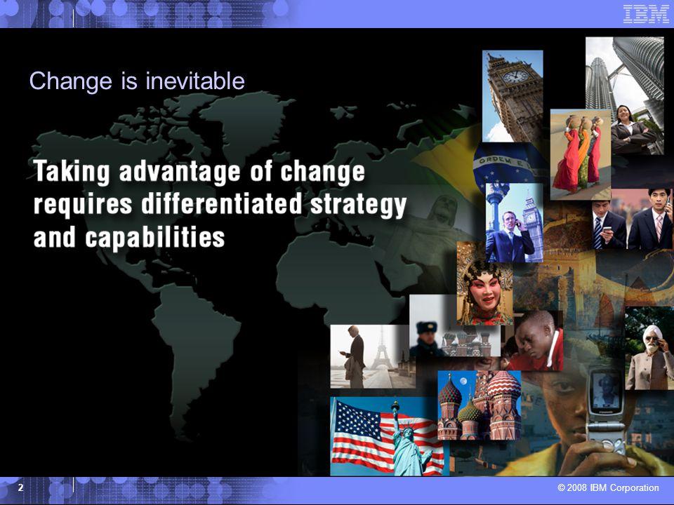 © 2008 IBM Corporation 13 Three Pillars of Innovation