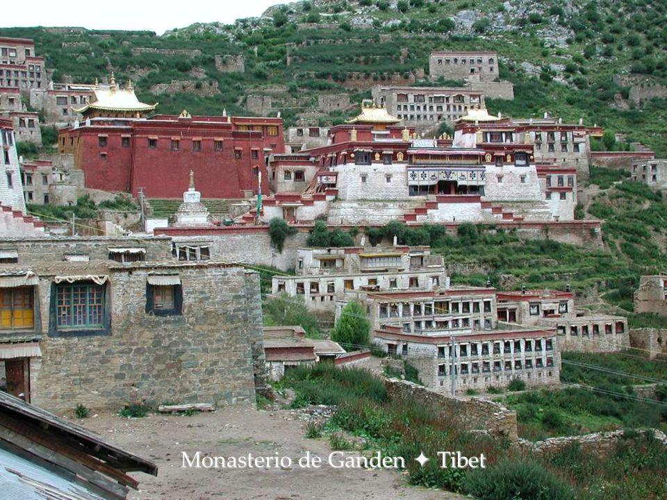 Monasterio de Yungbulagang  Tsetang, Tibet