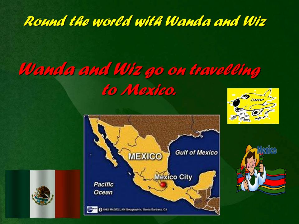 Round the world with Wanda and Wiz In the USA the native people are indians.