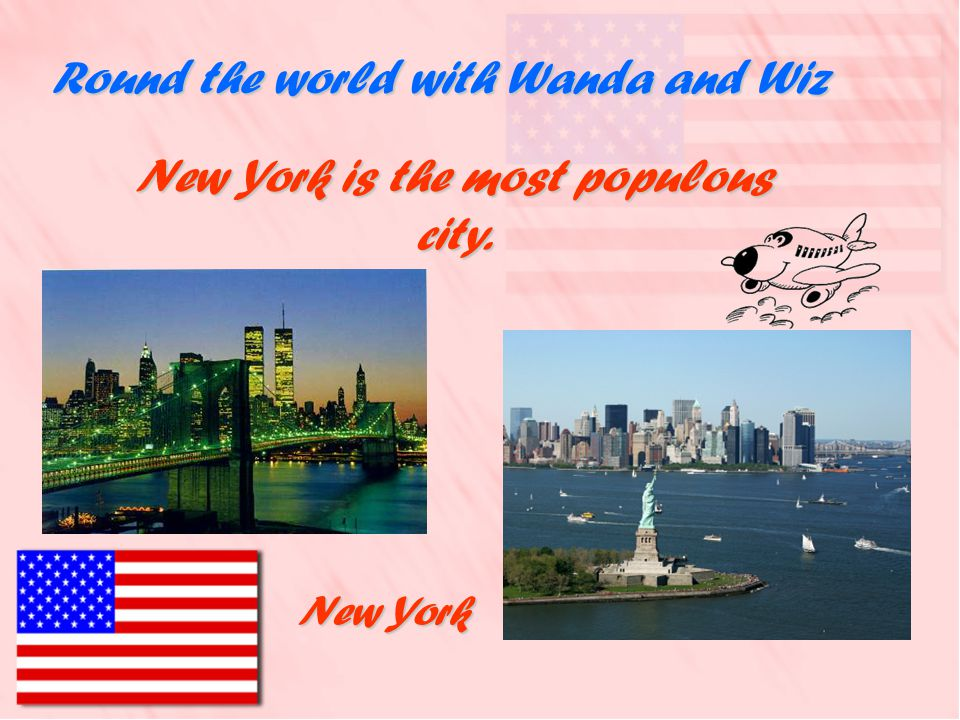 Round the world with Wanda and Wiz George Washington was the first president of the United States. George Washington was the first president of the Un
