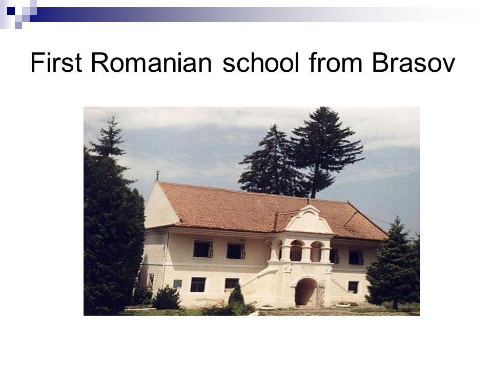 First Romanian school from Brasov