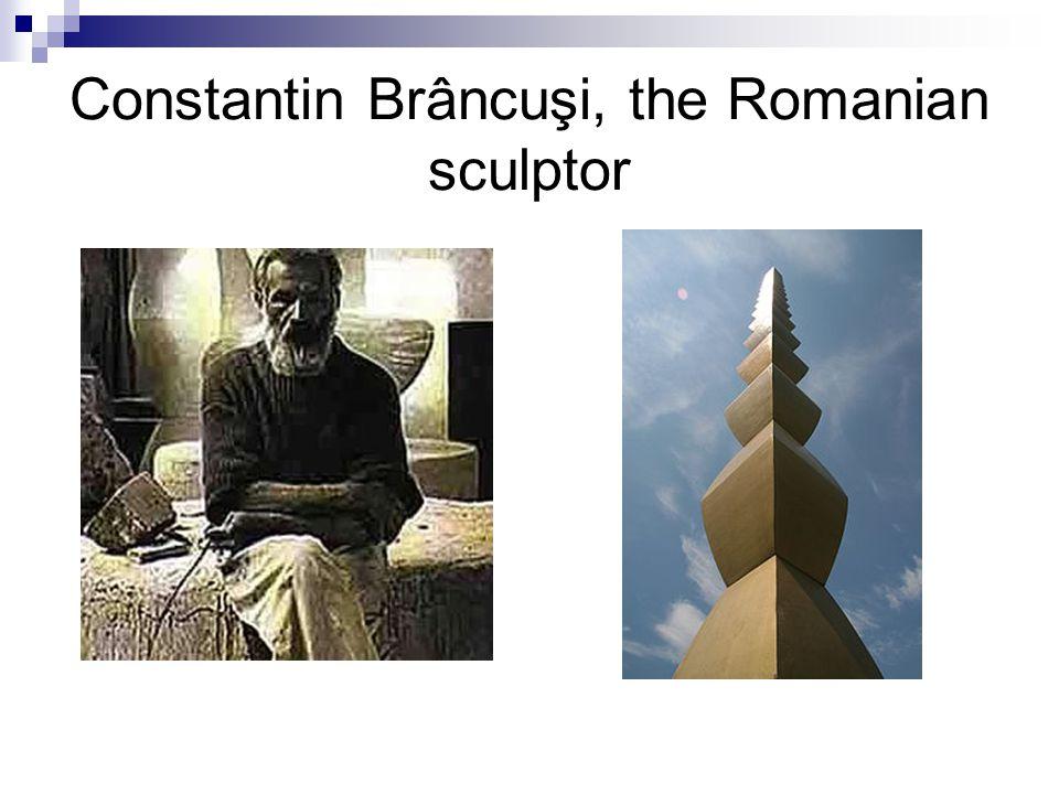 Constantin Brâncuşi, the Romanian sculptor