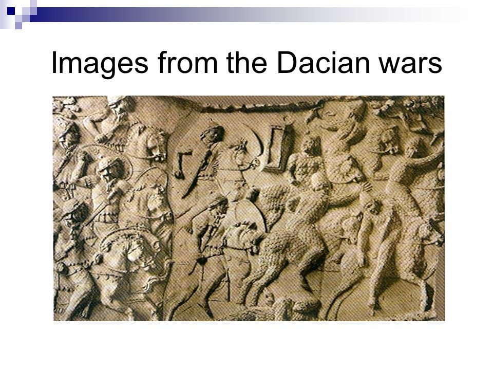 Images from the Dacian wars