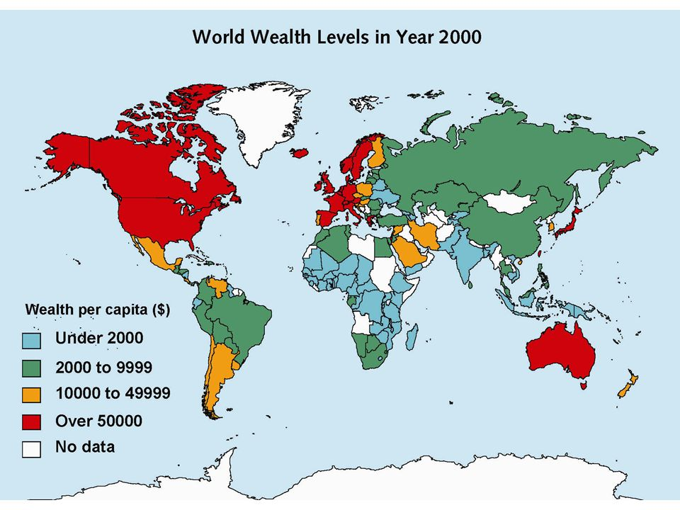 Where do the richest 10% live.