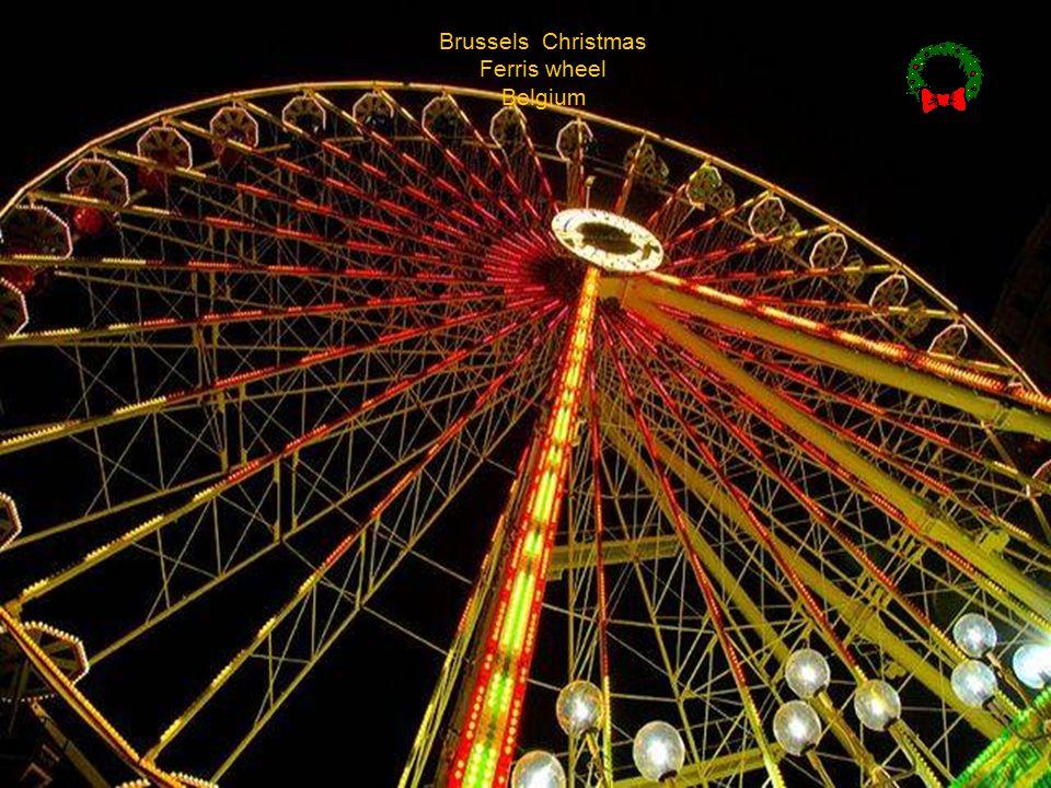 Christmas in Grand Place, Brussels Zalig Kerstfeest en Gelukkig nieuw jaar!