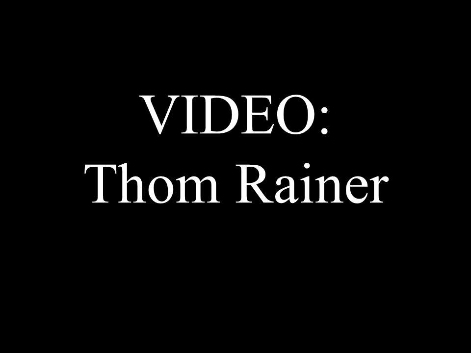 VIDEO: Thom Rainer