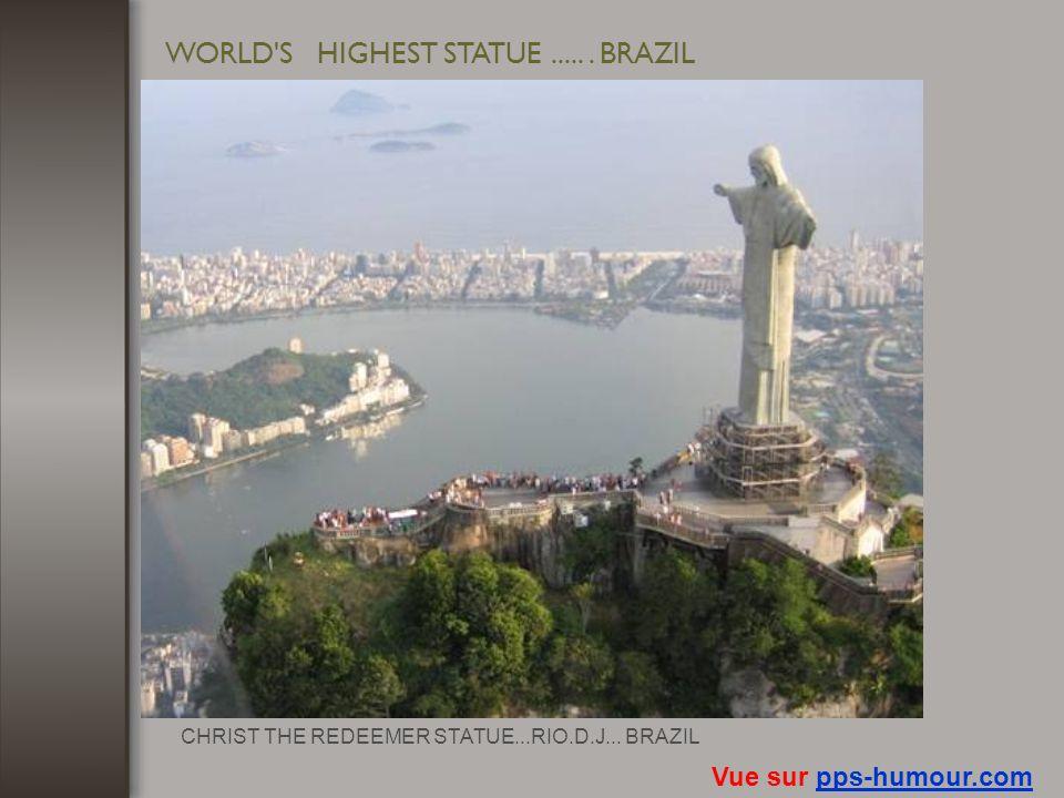 WORLD'S BIGGEST STADIUM....BRAZIL Vue sur pps-humour.compps-humour.com