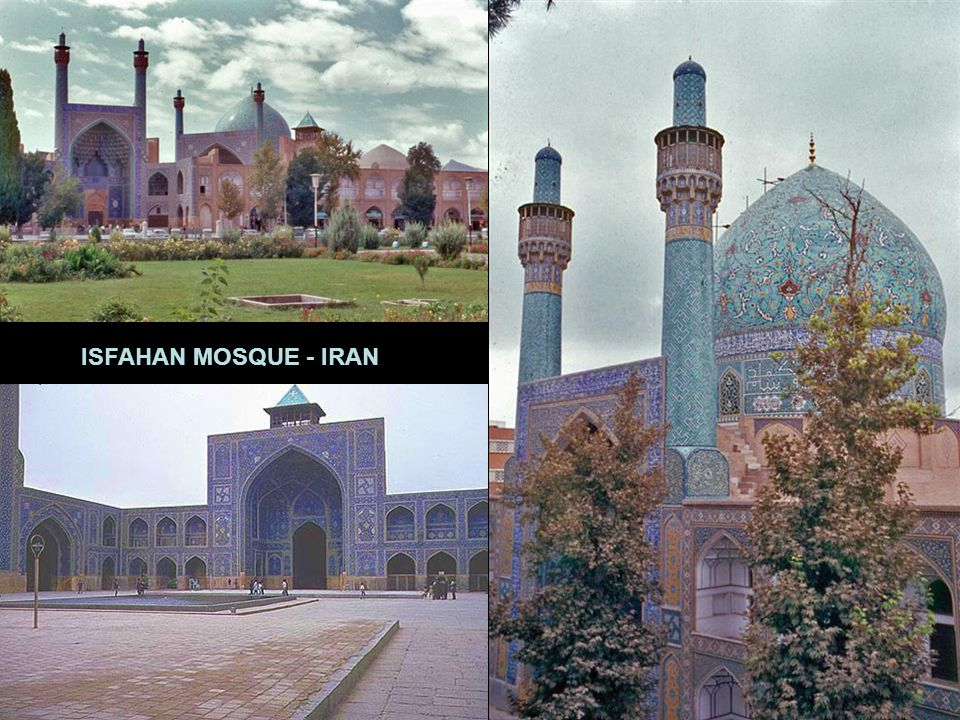 INTERIOR OF FATIH MOSQUE – ISTANBUL KERBALA MOSQUE - IRAQ