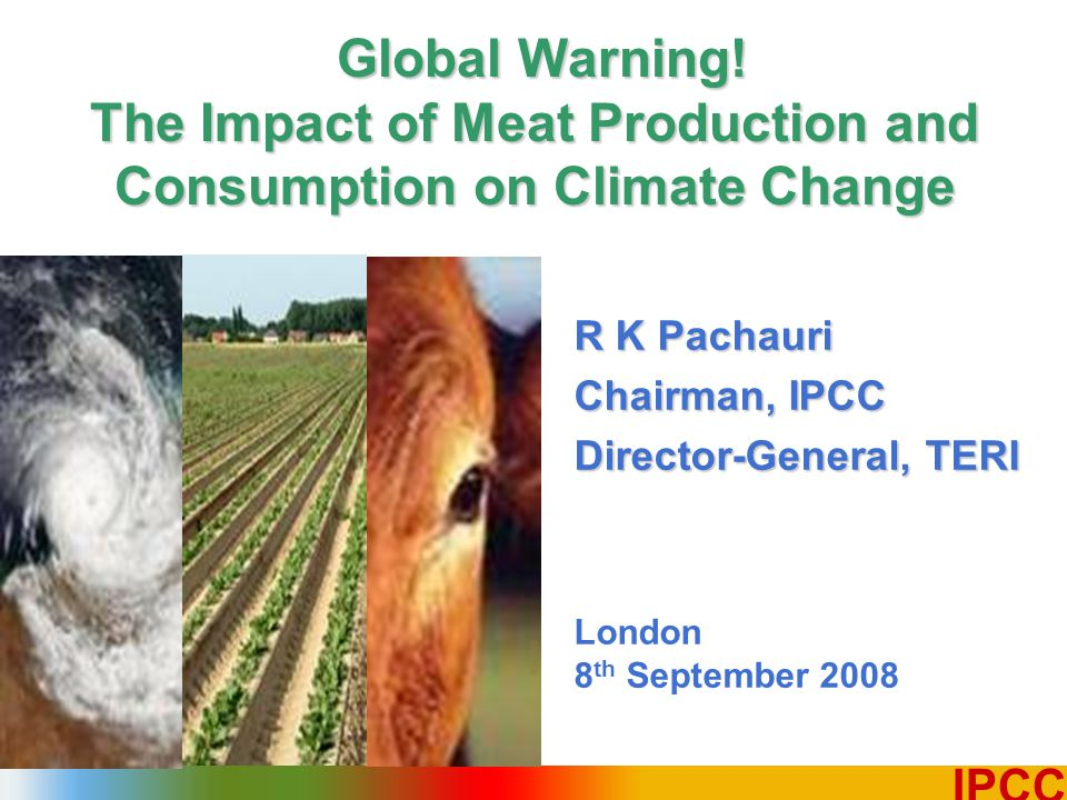 1 IPCC R K Pachauri Chairman, IPCC Director-General, TERI London 8 th September 2008 Global Warning.