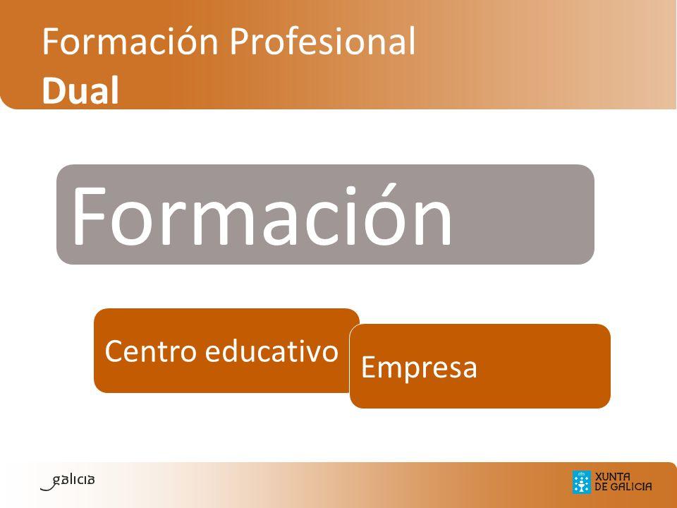 Formación Profesional Dual Formación Centro educativo Empresa