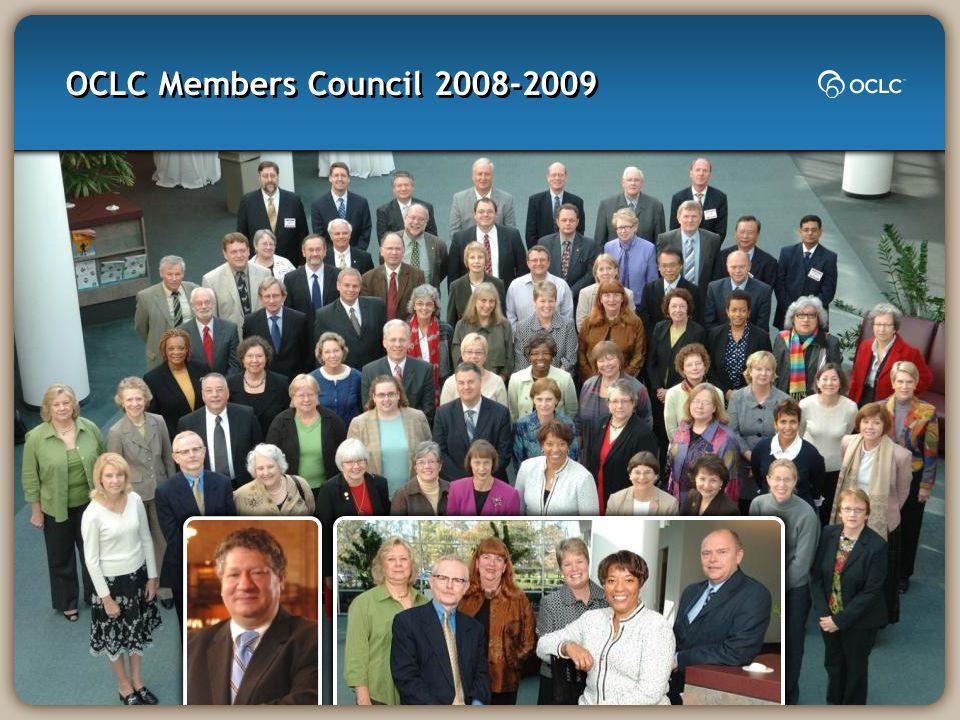 OCLC Members Council 2008-2009