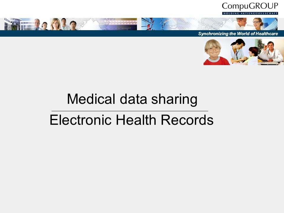 Synchronizing the World of Healthcare Projects Electronic Health Record