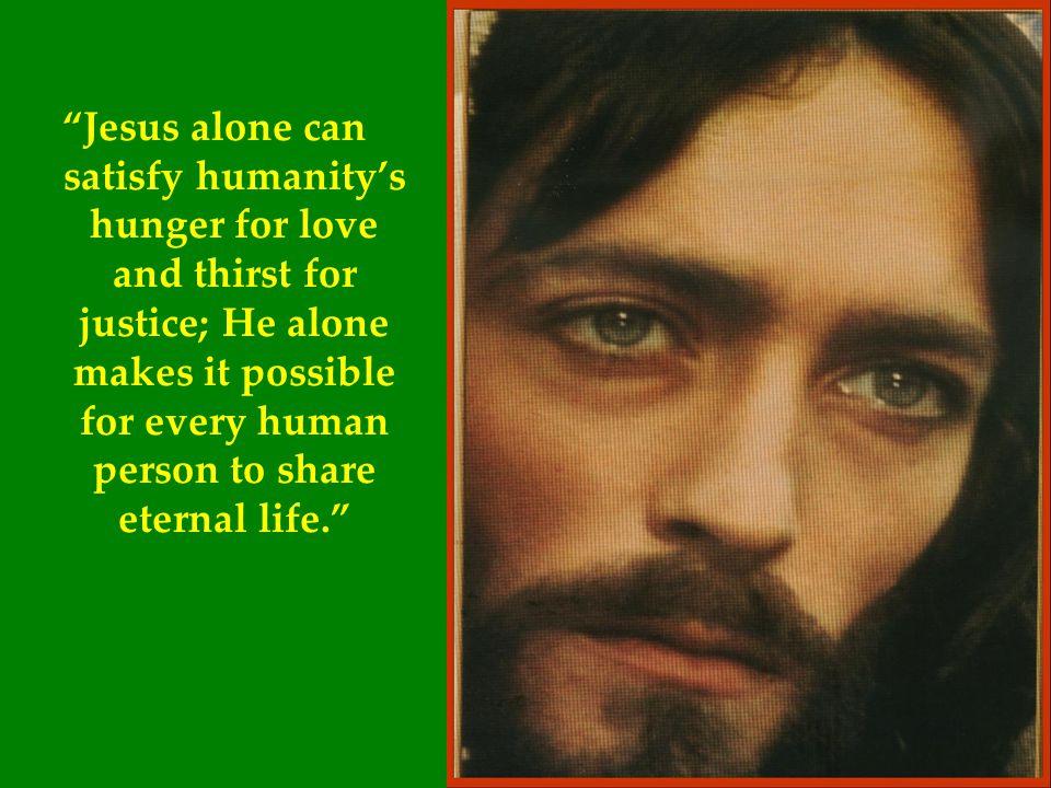 "Humanity has need of Christ ""Bread Broken"""