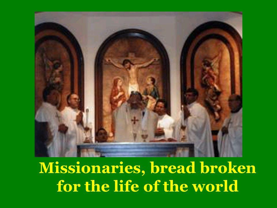 Mane Nobiscum Domine IV EUCHARIST: PRINCIPLE AND PLAN OF MISSION