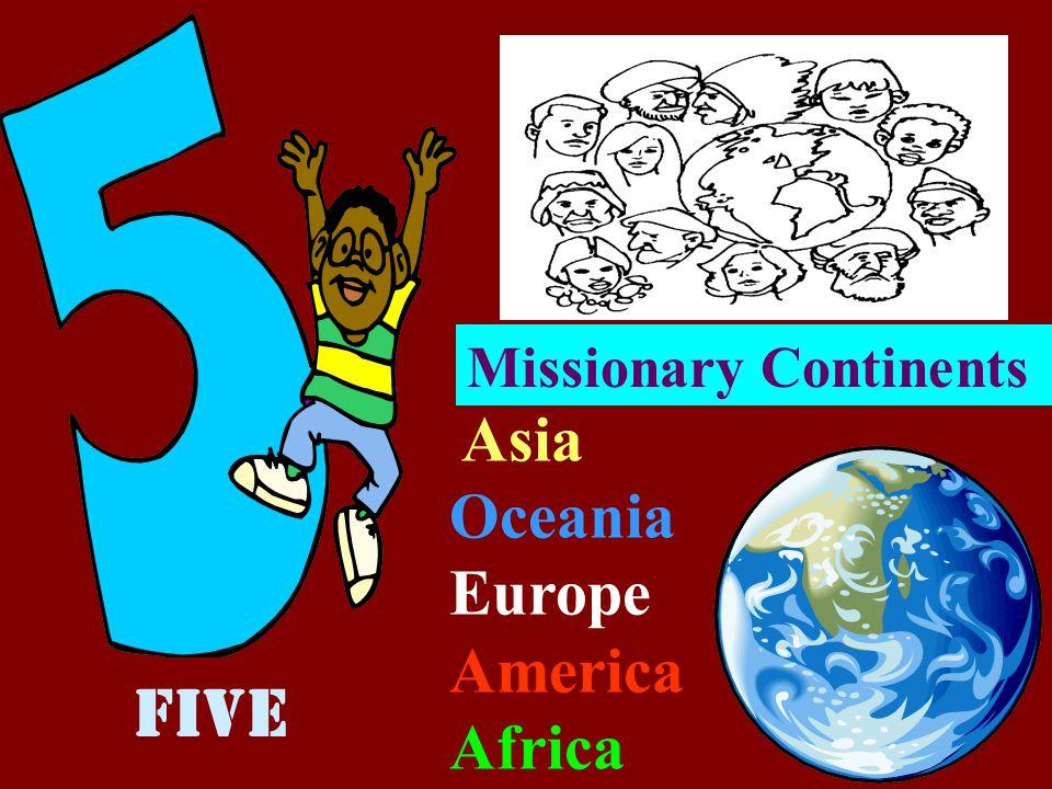4 GOSPELS Pontifical Missionary Societies Matthew Mark Luke John Four