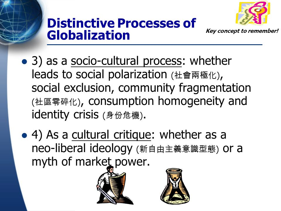 Question: ** Is globalization merely a catch-all buzzword, an overstated process or merely an ideology ( 意識型態 ) ?