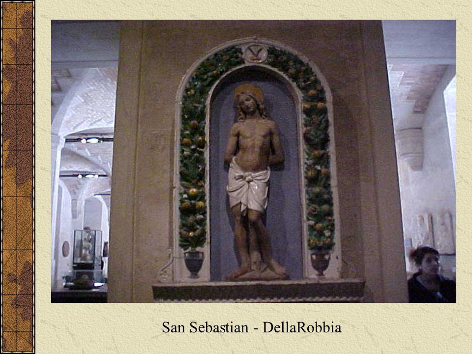 San Sebastian - DellaRobbia