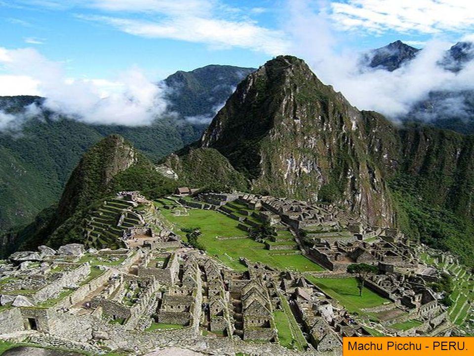 Machu Picchu - PERU.
