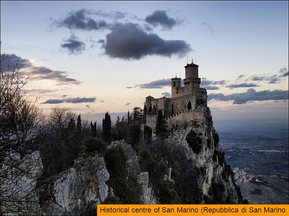 Historical centre of San Marino (Repubblica di San Marino