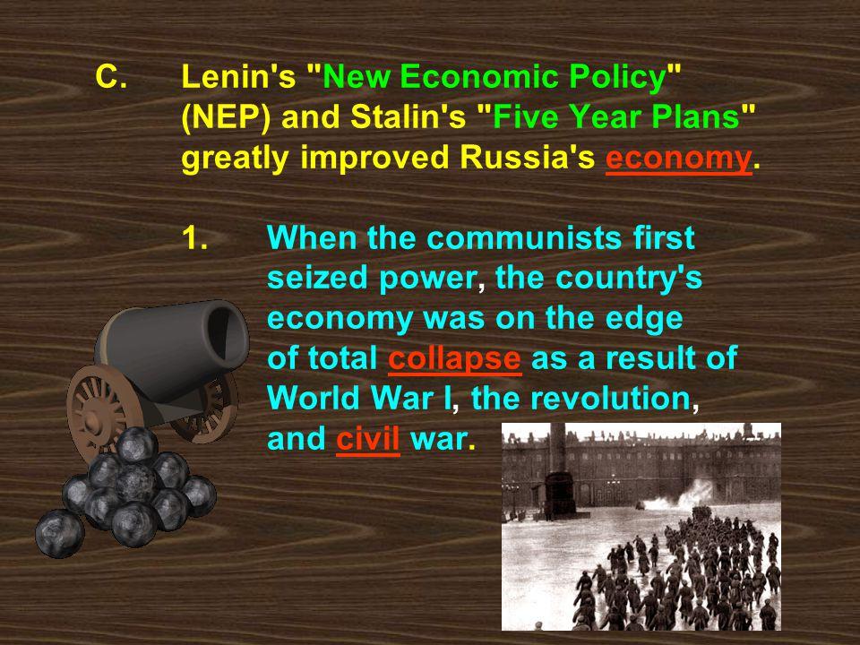 C. Lenin's