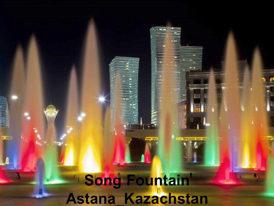 Song Fountain Astana_Kazachstan