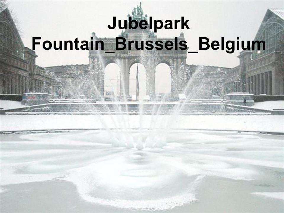 Jubelpark Fountain_Brussels_Belgium