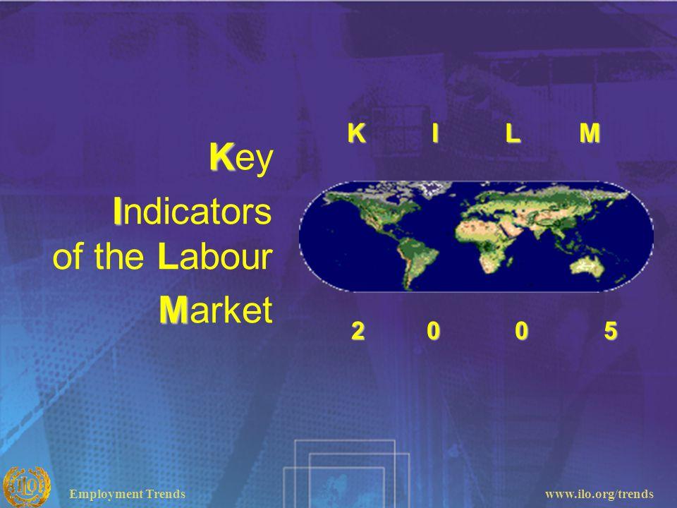 Employment Trendswww.ilo.org/trends K Key I Indicators of the Labour M Market 2 0 0 5 2 0 0 5 K I L M K I L M