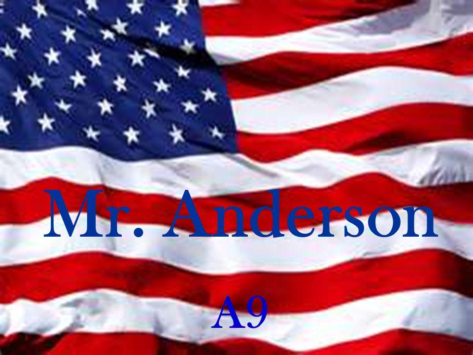 Mr. Anderson A9