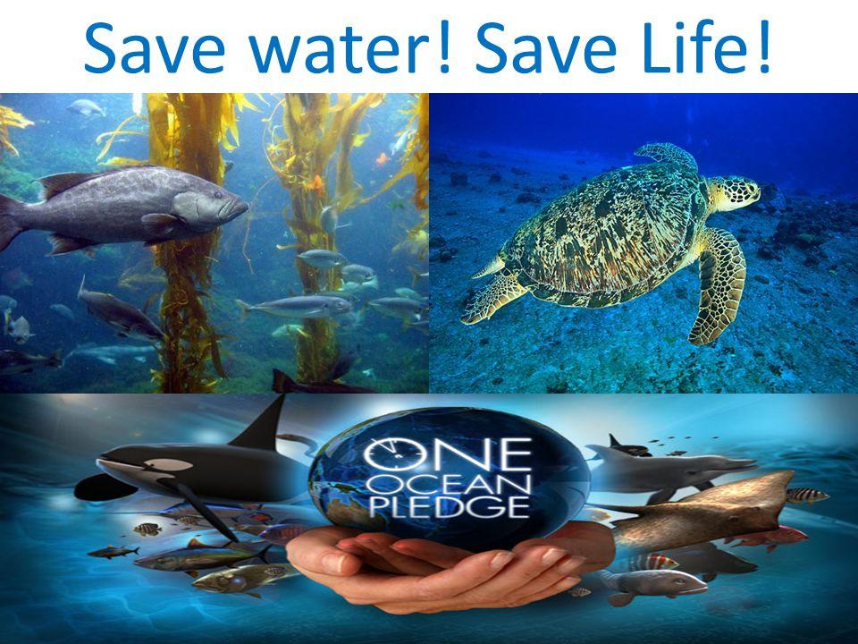 Save water! Save Life!