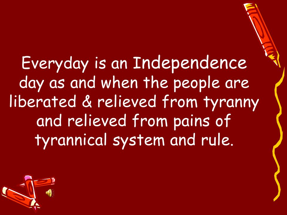 On 15 th of August 1947, India became Independent.