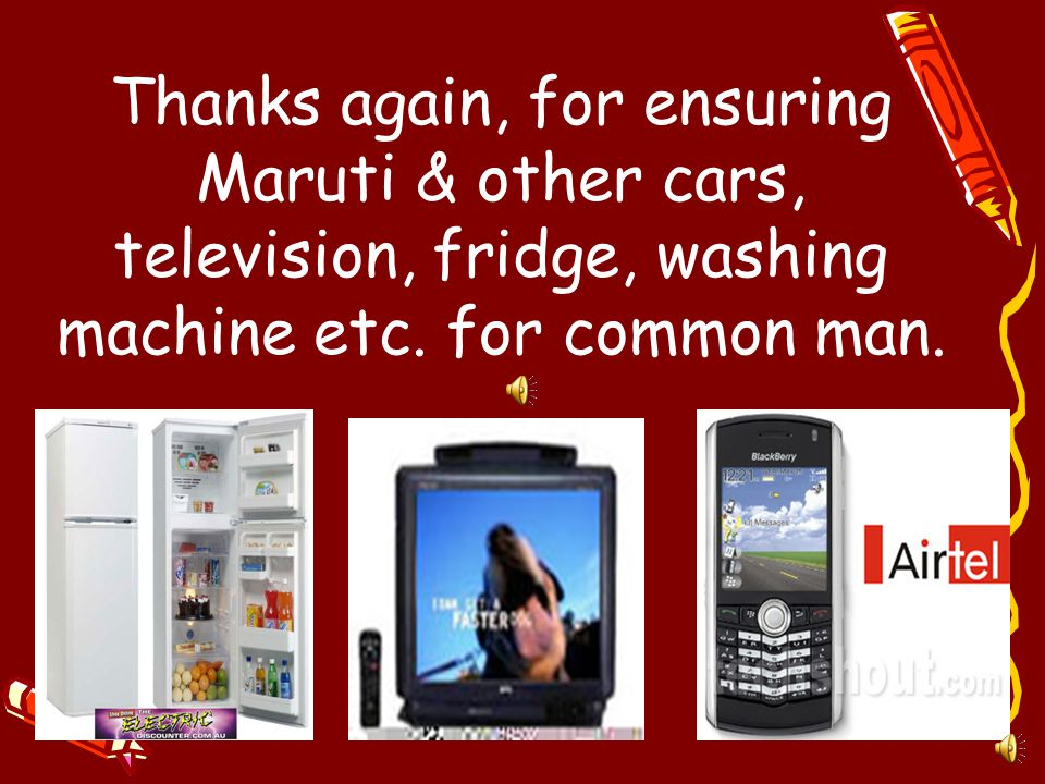 Thanks Hon. Indira Gandhiji, For Nationalizing the Industries, Institutions of Arrogant, Tyrannical Baniyas (Birlas etc) and ameliorating the conditio