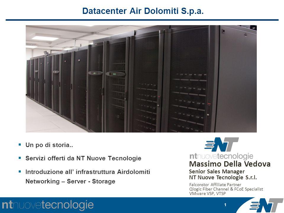 1 Datacenter Air Dolomiti S.p.a.  Un po di storia..